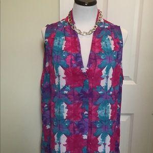 Laundry by Shelli Segal sleeveless tunic